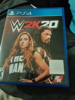Wwe 2k20 ps4 game for Sale in Romeoville, IL