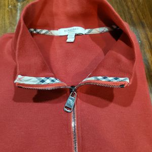 Burberry Authentic Red Pullover, Mens Size Large for Sale in Duluth, GA