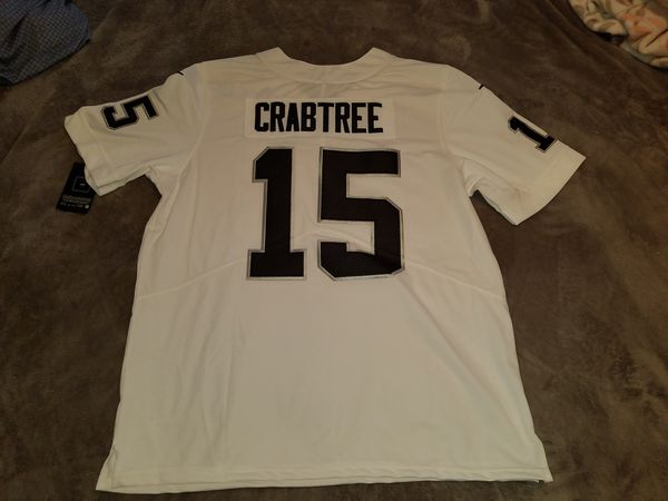 Oakland Raiders Micheal Crabtree White Nike limited jersey size medium