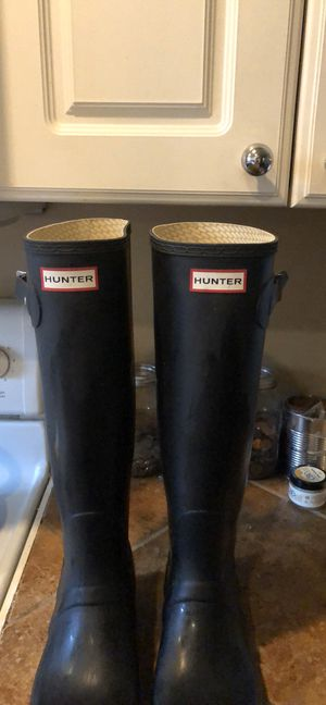 Hunter rain boots for Sale in Carnegie, PA