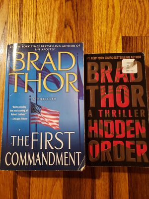 Brad Thor Paperback Books $3 each for Sale in Portland, OR