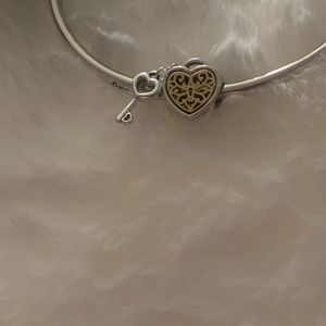 Gold Heart And Key Charm for Sale in Chicago, IL