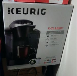 New Keurig with about 30 cups for Sale in Salt Lake City, UT