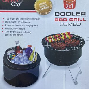 Cooler & BBQ Grill Combo for Sale in El Cajon, CA