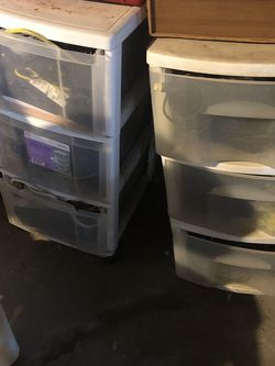 Plastic Drawers for Sale in Malden,  MA