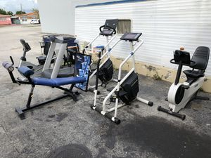 Gym equipment for sale for Sale in Hialeah, FL