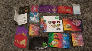 Pokemon Or Card Decorations With 2 Lunch Boxes Too Put Them In for Sale in Fresno, CA