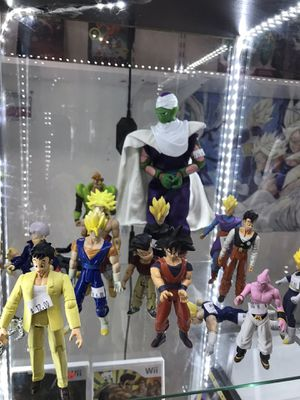 Collectible jakks Dragon ball z action figures ( plaza garland ) price $6 to $20 each for Sale in Garland, TX