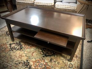 Coffee table solid wood for Sale in Longwood, FL