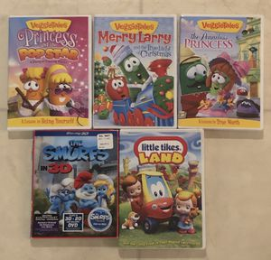 5 Children's DVDs for Sale in Smyrna, TN