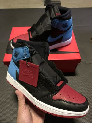 """Jordan 1 Retro High """"NC to Chi"""" Womens Size9.5 or Mens Size8 for Sale in Chicago, IL"""