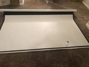 Projection screen for Sale in Visalia, CA