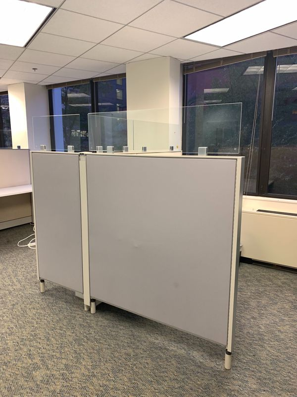 4 Evolve Systems Cubicles and Misc. Office Furniture