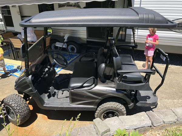 Slippery rock campground plus 2018 EZ go golf cart lifted every option!