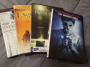 Bundle of 4 possession- themed DVDs for Sale in Gresham, OR