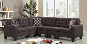 Brand New Chocolate Sectional Sofa for Sale in Austin, TX