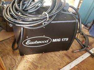 Eastwood mig 175 welder for Sale in Shelton, WA