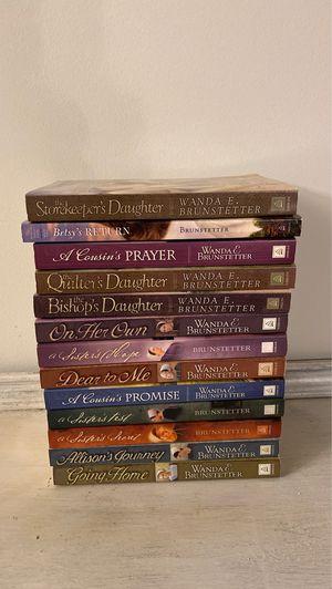 Wanda & brunstetter books for Sale in Columbia, MO