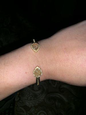 Designer bracelet gold plated for Sale in Brandon, FL