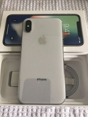 EXCELLENT CONDITION Apple iPhone X 64GB (T-Mobile) UNLOCKED +USB CABLE +CHARGER $450 FIRM for Sale in Garden Grove, CA