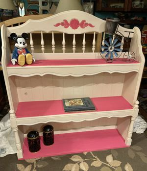 Refinished Vintage Stanley Hutch. It redesign into a beautiful book case. for Sale in Bowie, MD