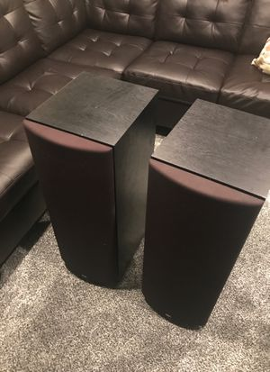 """Two 10"""" subwoofer tower speakers by MTX, for Sale in West Covina, CA"""