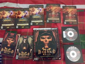 Diablo ll 2nd and 3rd disks for Sale in Whitinsville, MA