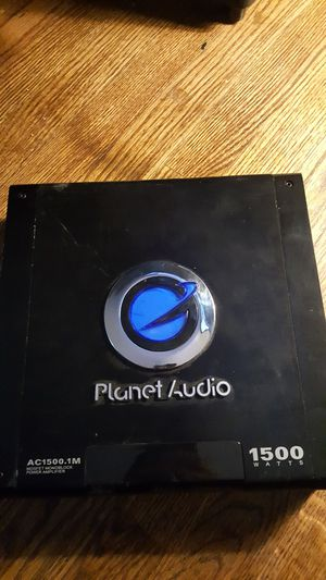 Planet audio car amplifier for Sale in Lakewood, CO