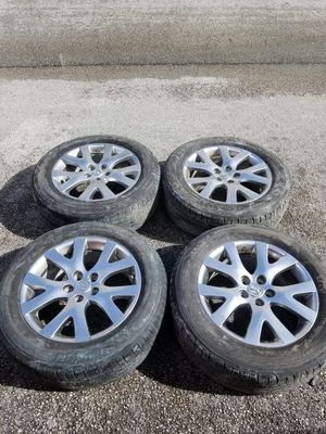Rims 18 Mazda 5 lugs 114.3 mm for Sale in Davie, FL