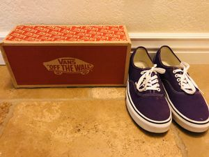 Classic Purple VANS OFF THE WALL for Sale in Mesa, AZ