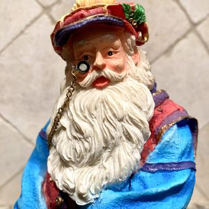 Golfing Santa with Chained Monocle & Pocket Watch for Sale in Hollywood, FL