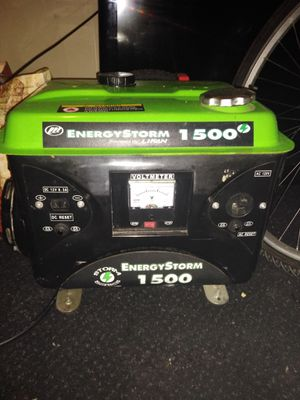 Energy storm generator 1500 powered by Lifan for Sale in Eugene, OR