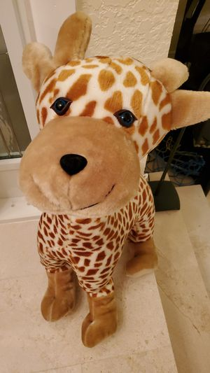 Giant giraffe stuffed animal and inflatable plush for Sale in Coral Springs, FL