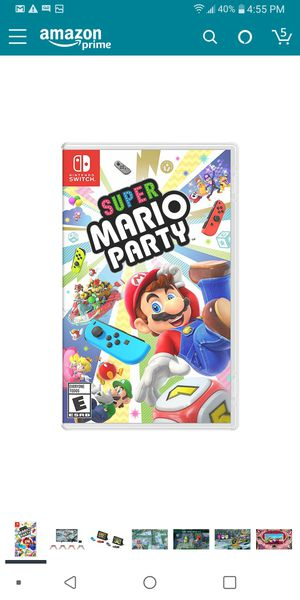 mario party for Sale in Dallas, TX
