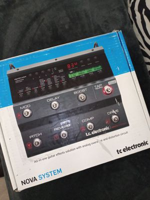 T.C. electronics Nova system (2 available) for Sale in Las Vegas, NV