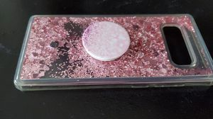 Samsung Galaxy Note 8 clear phone case (with pop socket) for Sale in Fort Myers, FL