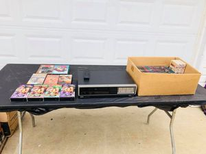 RCA - VCR - Tapes - Star Trek - Lost in Space - Great Condition for Sale in Downers Grove, IL