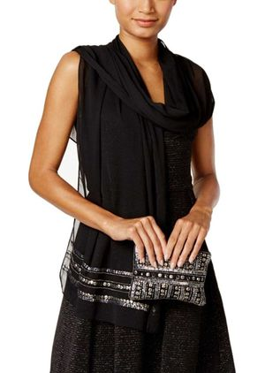 Vince Camuto Wrap and Clutch for Sale in Norfolk, VA