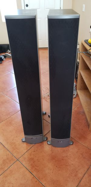 Polk Audio speakers, center channel, & Onkyo receiver for Sale in Phoenix, AZ
