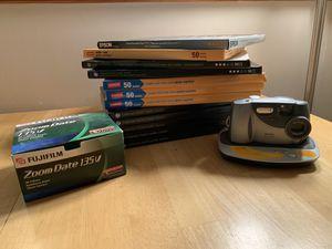 Fuji 35mm Camera, Kodak Digital Camera, 12 boxes of Photo Paper for Sale in Middleton, MA