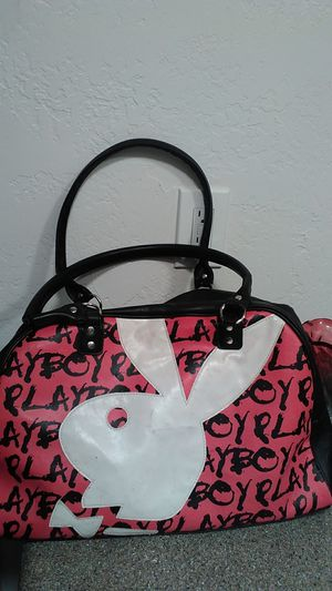 Playboy leather duffle bag for Sale in Phoenix, AZ