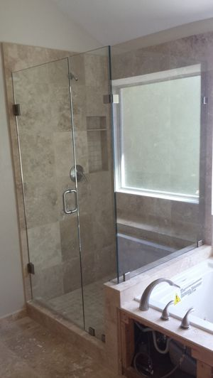 Frameless Shower doors, mirrors,tabletops, foggy windows,shelves, glass replacements. for Sale in Dallas, TX