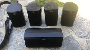 FIVE (5) KLIPSCH Surround Sound Speakers in GOOD Shape!!! for Sale in Santa Clarita, CA