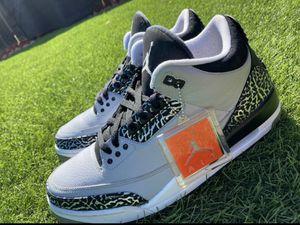 Nike air jordan retro 3 wolf grey size 11 for Sale in Imperial Beach, CA
