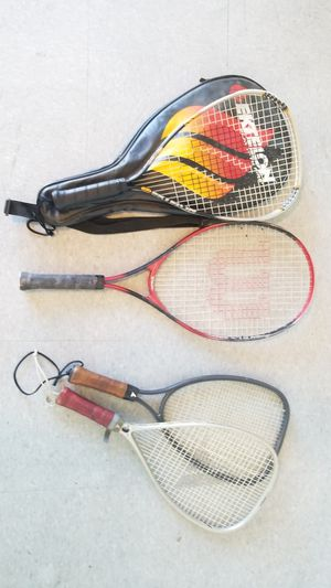 tennis rackets 4 for $20 for Sale in Highland, CA