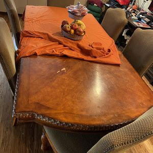 Solid Wood Table And Chairs for Sale in Richmond, CA