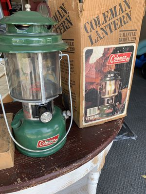 1981. Coleman 220k lantern with fuel funnel for Sale in Yorba Linda, CA