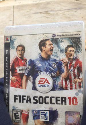 Fifa 10 PS3 for Sale in Sacramento, CA