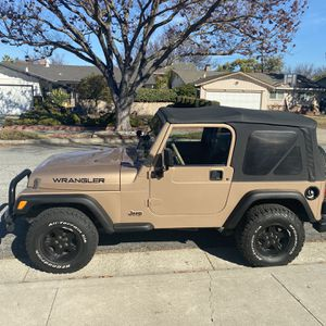 Jeep 1999 Wrangler ; manual,143K, Call Mike {contact info removed} for Sale in Cupertino, CA
