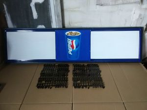 "6 ft. Pepsi Menu Board w/2 Sets of Letters 72""x18"" for Sale in Lake City, PA"